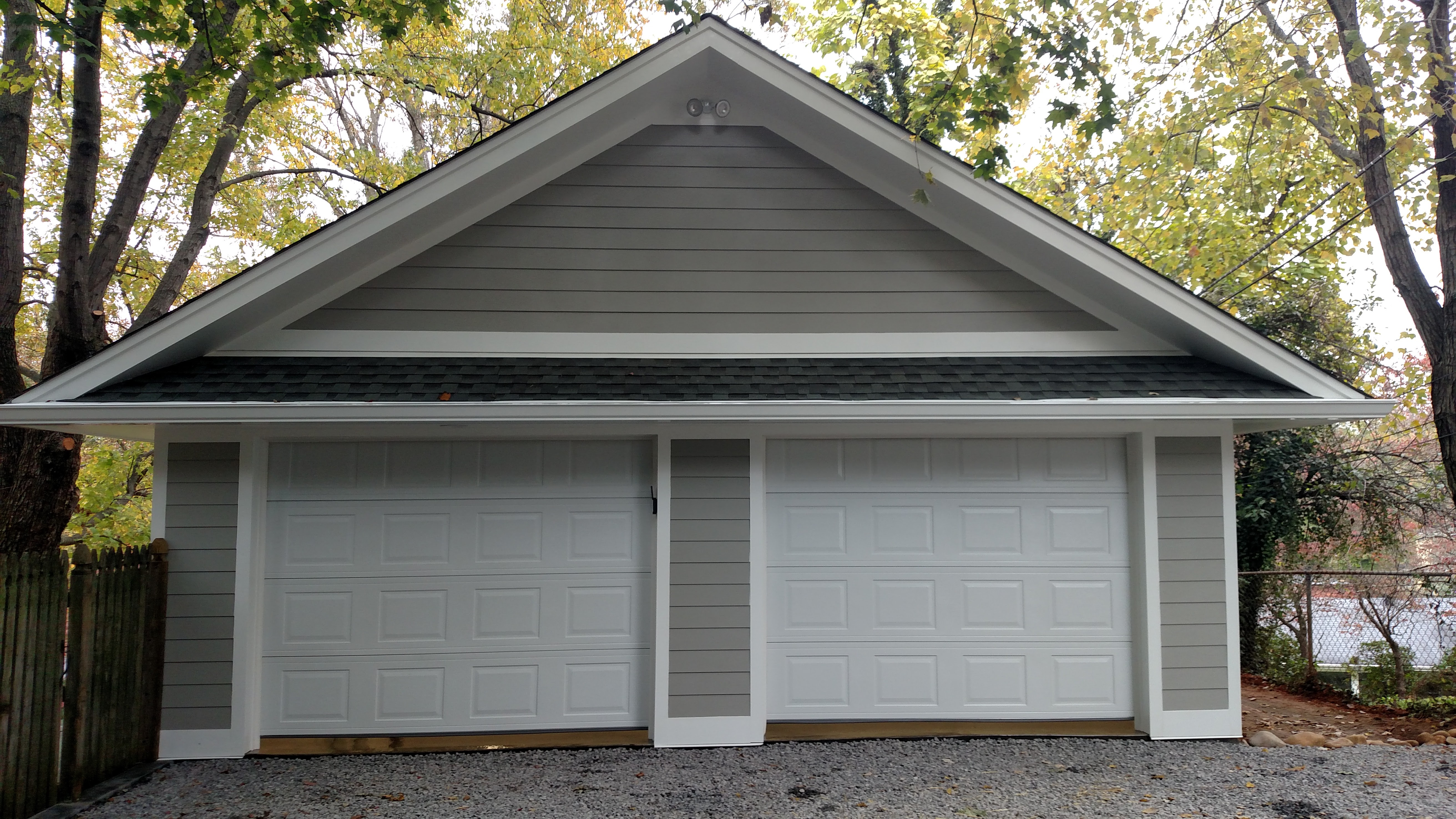2 car garage completed southerland construction renovation llc img 20151024 124834877